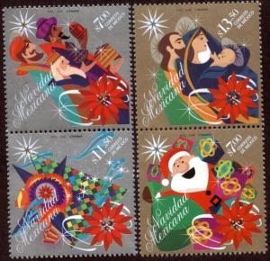 MEXICO 2849a,2850a Christmas Holidays. PAIRS. MINT, NH. VF.