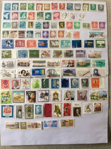 German 100+ stamps - Lot 9