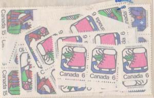 Canada USC #625-628 Mint 1973 XMAS (20) Sets Inc. Blocks. VF-NH