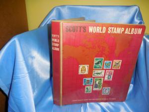 Scott World stamp album