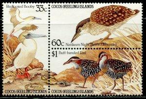 Cocos Island MNH Block 134a Seabirds Fauna 1985
