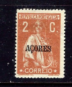 Azores 180 MH 1919 overprint issue