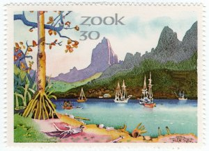 (I.B) South Africa Cinderella : Fook Island 30c