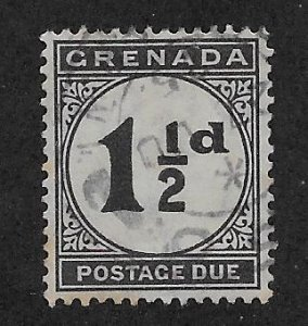 GRENADA SC# J12   FVF/U 1922