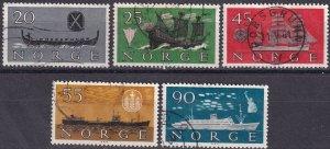 Norway #382-6  F-VF Used CV $7.80  (SU8291)