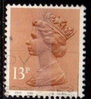 Great Britain - #MH83 Machin Queen Elizabeth II - Used