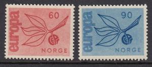 Norway 475-6 Europa mnh