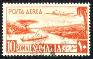 Somalia Sc# C27 Used (a) 1951 10s Air Post