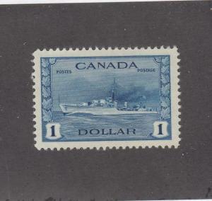 CANADA (MK772) # 262 VF-MLH  $1  TRIBAL CLASS DESTROYER,RCN /DEEP BLUE  CAT $100