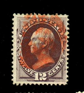 151 Used F-VF Red Cancel Cat $225