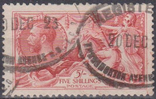 Great Britain #180 F-VF Used CV $125.00 (A9684)