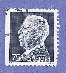 Sweden Scott #959 King Gustaf VI Adolf, CV $.20, Used