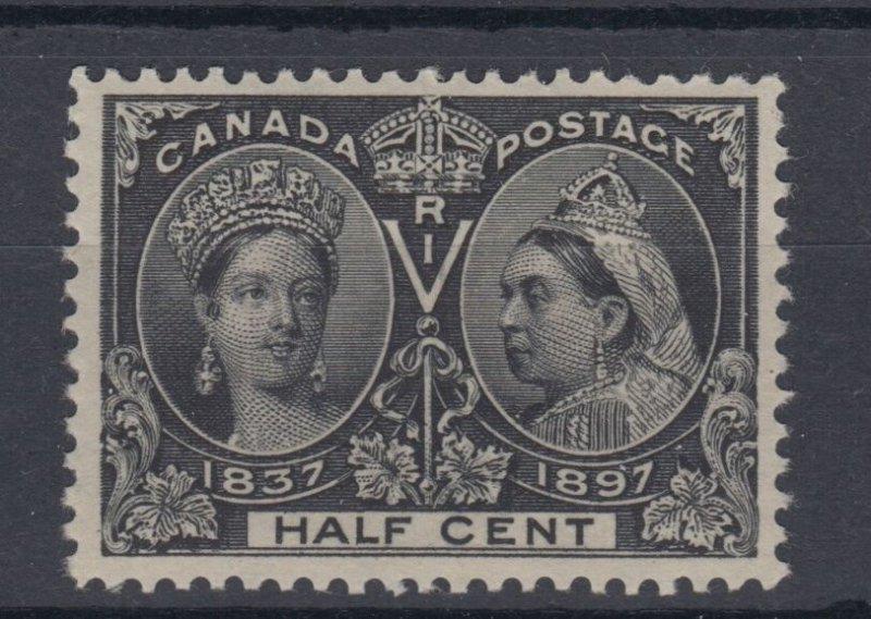 #50 HALF CENT Jubilee VF MNH Cat $450  Canada mint