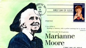US FDC #2449 Moore, Anagram H/P, 16/35 (4502)