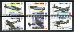 Guernsey 713-718 MNH