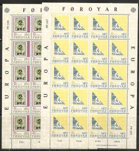 Faroe Islands 43-4 1979 Europa m/s MNH