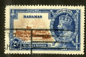 BAHAMAS 93 USED SCV $10.00 BIN $3.25 CASTLE