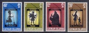 Cayman Islands Scott #258-261 MNH