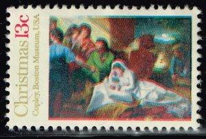 US STAMP #1701 – 1976 13c Traditional Christmas Nativity UNUSED NG STAMP ERROR