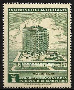 Paraguay 1961 Scott# 603 MH