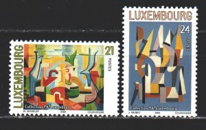 Luxembourg. 2000. 1509-10 from the series. Painting, paintings. MNH.