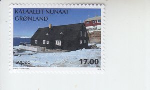 2019 Greenland Old Residential Buildings SEPAC  (Scott NA) MNH