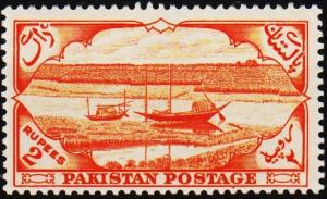 Pakistan. 1954 2r S.G.71 Mounted Mint