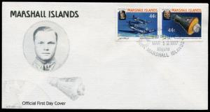 Marshal Islands, FDC, Airplane Aviation x4172