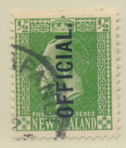 New Zealand Stamp Scott #O41, Used - Free U.S. Shipping, Free Worldwide Shipp...