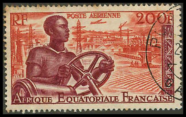 French Equatorial Africa C41 Used VF