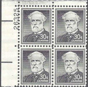 1049a Mint,OG,NH... Plate Block of 4... SCV $4.00