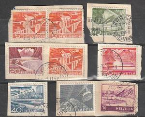 #329-30,332-33,336,339,C31 Switzerland used