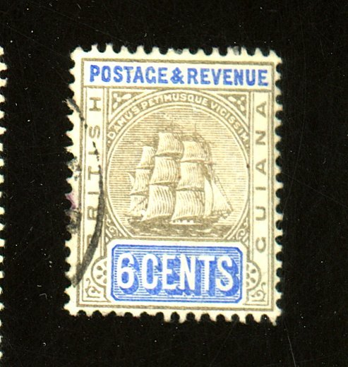 British Guiana #164 Used F-VF Cat $ 50.00