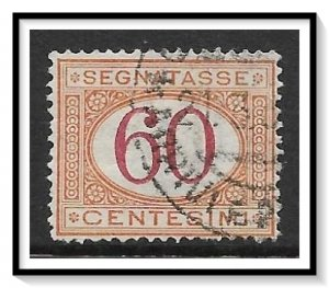 Italy #J11 Postage Due Used