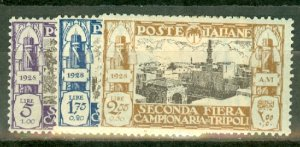 P: Libya B17-22 mint CV $195; scan shows only a few