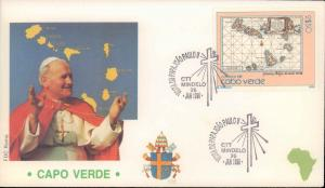Cape Verde, Worldwide First Day Cover, Religion