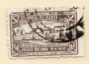 Indian States Charkhari 1940 Early Issue Fine Used 1a. 076052