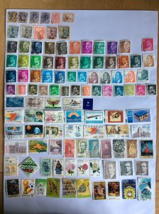 Spain 100+ stamps - Lot H