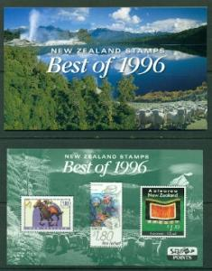 New Zealand Best of 1996 Mint VF NH