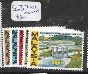 MALAYSIA  (PP2805B) SG 37-41   MNH