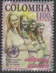 COLOMBIA C904, WORLD HEALTH ORGANIZATION. MINT, NH. F-VF. (556)