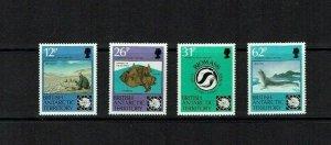 British Antarctic Territory: 1991 30th Anniversary of Antarctic Treaty,  MNH set