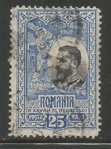 ROMANIA  191  USED, KING CAROL I