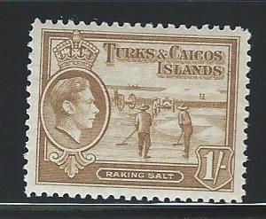 Caicos Islands   mnh S.C. 86