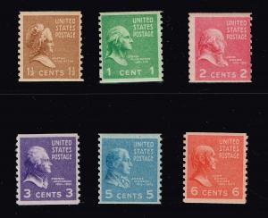 US STAMP # 1939 ROTARY COIL MNH STAMPS LOT
