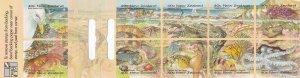New Zealand # 1344KJ, Seashore Views, Booklet, NH, 1/2 Cat.