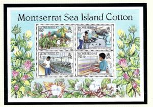 Montserrat 572a MNH 1985 Sea Island Cotton S/S