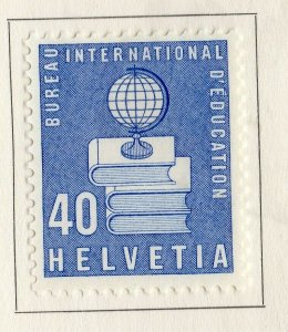 Switzerland Helvetia 1958 Early Issue Fine Mint Hinged 40c. NW-170868