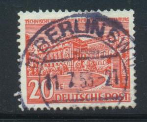 Germany-Allied Occupation Sct # 9N49; Used