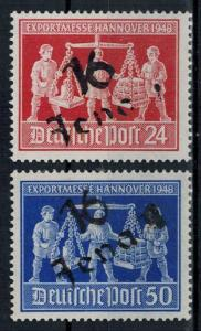 Germany - Russian Zone - Provisional Issue - Michel IVa & IVb MNH